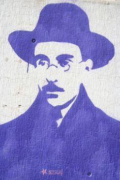 Fernando Pessoa, Lisbon.