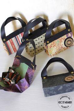 Paper purses.