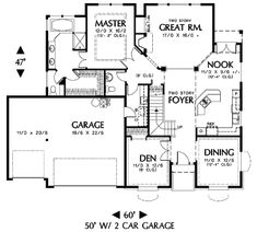 House Blueprints on modern small house floor plans