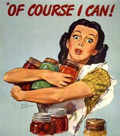 During WWI home cooks found the power to prolong the surplus from their victory gardens through canning, allowing commercial goods to be distributed to the army. Likewise, the depression of the 1930s and WWII also gave home cooks a reason to preserve their homegrown food.