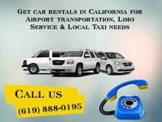 Get car rentals in California for Airport transportation, Limo Service & Local Taxi needs http://www.slideshare.net/citycaptain/enjoy-a-comfortable-ride-through-san-diego-with-our-limo-reservation-service