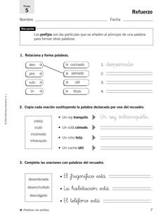 #ClippedOnIssuu from 33009195 refuerzo y ampliacion lengua 4 primaria 121026032108 phpapp02 Spanish Worksheets, Spanish Teaching Resources, Kids Math Worksheets, Teachers Corner, Math For Kids, Spanish Class, Home Schooling, Classroom, Student