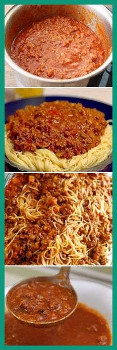 34 Ideas for pasta bolognese recipe Pasta Recipes, Cooking Recipes, Healthy Recipes, Recipe Pasta, Recipe Recipe, Italian Recipes, Mexican Food Recipes, Italian Meals, Popular Italian Food