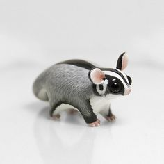 Tiny Animal Sculptures That I Create From Polymer Clay