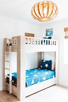 From bright, playful murals to kickass wall decor, these kids' bedroom ideas are bright, colorful and bursting with creativity for your little ones. Room Wall Decor, Bedroom Decor, Bedroom Ideas, Kids Bedroom Furniture, Furniture Layout, Furniture Ideas, One Bedroom, Girls Bedroom, Cool Kids Bedrooms
