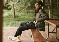 Venturing outdoors, East Dane rounds up men's outerwear from one of its latest imports, Moose Knuckles. Founded in the Canadian heritage brand is best… Nelson Mandela, Classic Sneakers, High Top Sneakers, Reigning Champ, The Fashionisto, Heritage Brands, Modern Man, Striped Tee, Uganda