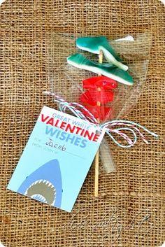 shark valentine - cute!