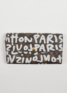 "Louis Vuitton Stephen Sprouse Graffiti ""Pochette Porte Monnaie"" Wallet"