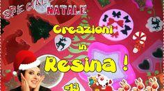 Nuove creazioni in Resina! #13 [Speciale NATALE! I parte w/ Ariali creat...