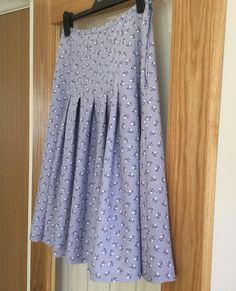 My first skirt for some time
