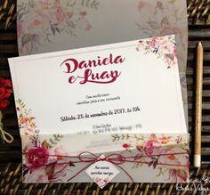 convite de casamento ou aniversário rústico moderno diferente floral boho chic vermelho marsala Invitation Cards, Wedding Invitations, Invites, Trendy Colors, Marsala, Boho Chic, Scrapbook, Ideas Para, Envelope