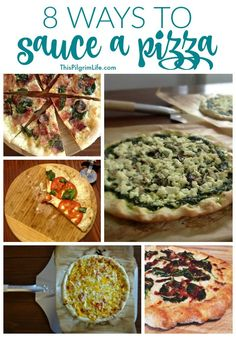 There are many ways to sauce a pizza! Try something new tonight! Tonight is family game night, which just screams pizza for dinner to me. There are plenty of times we order our favorite take-out pizzas, but it's hard to beat homemade pizza for taste, budget, and health! We eat a lot of homemade pizza [...]