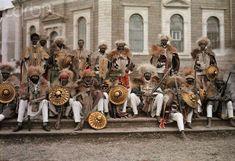 Эфиопия 1931 года в цвете. Модернизация феодализма: visualhistory — LiveJournal