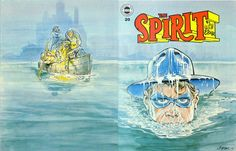 The Spirit Magazine 20 Cover - Will Eisner