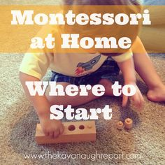 Montessori at Home -