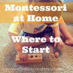 Montessori at Home -...