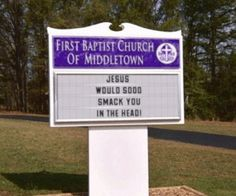 Humor inappropriate church signs Ideas for 2019 Church Sign Sayings, Funny Church Signs, Church Humor, Funny Signs, Church Memes, Funny Names, Catholic Memes, Christian Humor, Christian Quotes