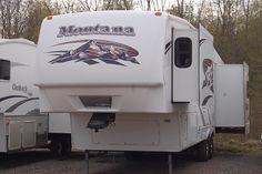 2008 Montana 3485SA Triple Slide Rear Living 5th Wheel   Kitsmiller RV
