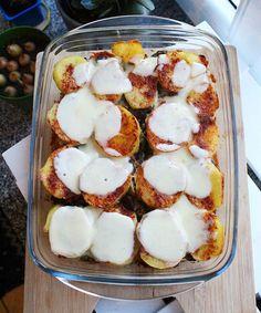 DIETETYCZNE SERNICZKI Z PATELNI - Jemy i nie tyjemy. Kuchnia według Sylwii Potato Salad, Potatoes, Eggs, Cooking, Breakfast, Ethnic Recipes, Health, Bulgur, Cuisine