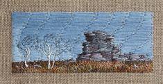 Original hand embroidery by Alison Wale Textile Art, Hand Embroidery, Textiles, Cap, Inspiration, Image, Baseball Hat, Biblical Inspiration, Fabrics