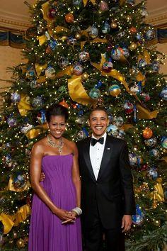 Happy Holidays from Mrs. Obama & President Obama