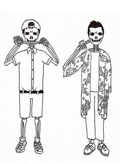 skeletøn clique.