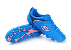 Umbro Cup AG Football Boots All Blue Pink