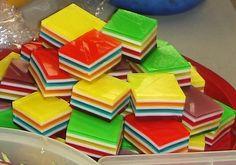 picnic food, finger jello, layer jello, fingers, favorit finger, layer finger, food dessert, jello finger, kid