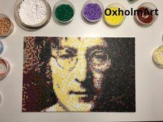 John Lennon  Beatles  Perler  Beads  Hama