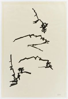 chillida drawings - Google Search Abstract Words, Abstract Art, Sculptures For Sale, Spanish Artists, Fine Art Auctions, Global Art, Art Market, Abstract Expressionism, Painting & Drawing