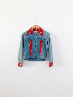 32c2fca9554d7e 1970s patchwork denim jacket