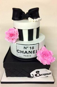 18th Chanel Birthday Cake - Cake by sweetlilylux