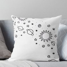 Dorm Themes, Bedroom Themes, Dorm Decorations, Aesthetic Space, Aesthetic Bedroom, Bedroom Decor For Teen Girls, Teen Girl Bedrooms, Cute Pillows, Throw Pillows