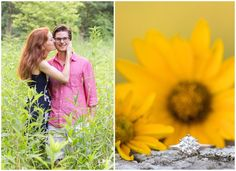 Take a look at Bethany and Mike's sunset engagement session at Shaker Village!