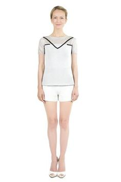 Delia Minimalist Reversible Pullover