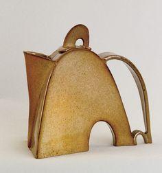 Paul Bernhardt, teapot, pottery