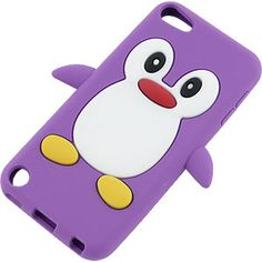 Penguin Cover Case for iPod touch (5th gen.), Purple