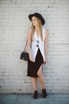 skirt + sneaks