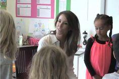 Princess Marie at the European School in Copenhagen August 27, 2014