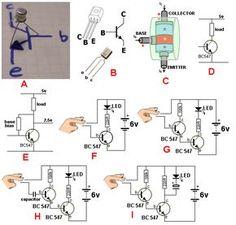How transistors work. 1 - 200 Transistor Circuits TalkingElectronics.com