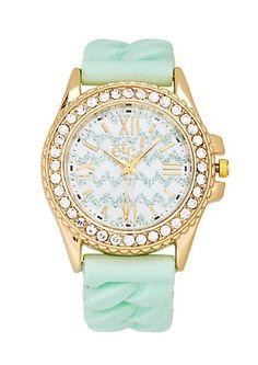 Glitter Chevron Watch Bracelet   rue21