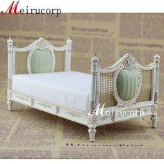 lit de grand style européen peints meubles par Meirucorpstore