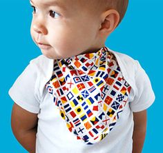 Interchangeable bibs snap in and out for the drooling stage. Cheekie Charlie Bib + Onesie