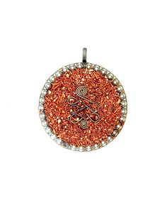 Infinity Orgone Pendant, Orgonite Pendant, Orgone Necklace, Orgonite Necklace, Copper and Steel Orgonite, Powerful Orgone Energy, 2…