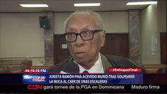 Jurista Ramón Pina Acevedo Murió Tras Golpearse La Nuca Al Caer De Una Escaleras