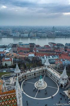 Budapest - Cityscape - Perfect cityscape from Buda to Pest :) Capital Of Hungary, Hungary Travel, Budapest Travel, Heart Of Europe, Bratislava, Cool Places To Visit, Beautiful Places, Scenery, Around The Worlds
