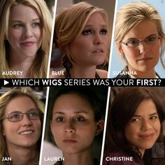 Fan Poll: Which WIGS series was your first?   Watch them all on http://watchwigs.com