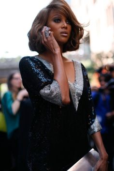 Tyra Banks shot by Stefania Yarhi in New York, September 2012.