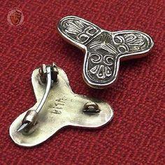 Viking-Trefoil-Brooch-Birka-Traders-10th-Century-Historical-Jewellery