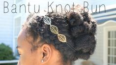 Check out my daughter's (age first attempt to style her loose hair. Head Mocha Girl is giving the braids and twists a rest for as much as she can this su. Kinky Curly Hair, Curly Hair Styles, Natural Hair Styles, Knot Bun, Easy Bun, Bantu Knots, Little Girl Hairstyles, Hair Inspiration, My Girl
